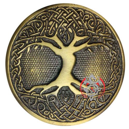 NEUF Scottish kilt Boucle de ceinture arbre de vie Finition Antique Highland Boucles.