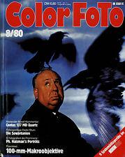 Color Foto 8/80 1980 Akt Contax 137 MD Quartz Leitz Macro-Elmarit Umbo Canon 155