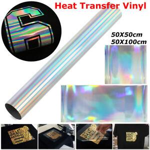 50cm*50/100cm Colorful Iron-on Roll Heat Press Transfer Vinyl PVC T-shirt Film