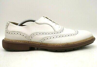 salvatore ferragamo white leather lace up dress casual