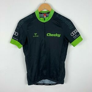 Cuore-Mens-Cycling-Jersey-Size-Small-Full-Zip-Short-Sleeve-Cheeky-Velosport-Audi