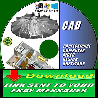 Latest 2d 3d Modeling Professional Cad Computer Aided Design Download Delivery Ebay