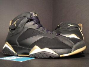 37e2c091eaf Nike Air Jordan VII 7 Retro GMP GOLDEN MOMENT GOLD MEDAL PACK BLACK ...