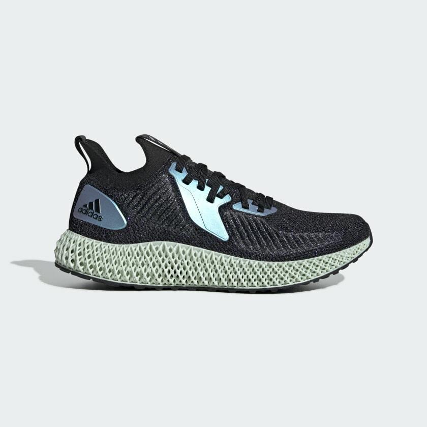 NEW Adidas Alphaedge F4D Black Space Race Lifestyle FV6106 Men's Running Shoes