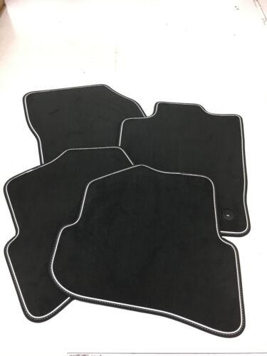 $$$ Original Lengenfelder Premium Fußmatten für Audi A1 S1 NEU Nubuk WEIß