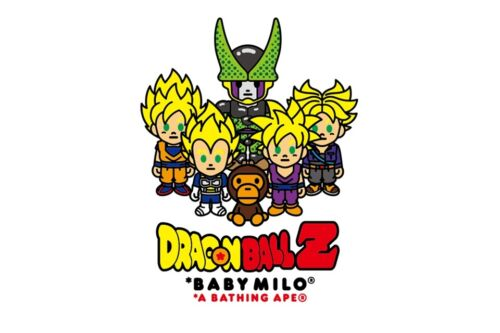 A BATHNIG APE BAPE x DRAGON BALL Z BABY MILO SUPER SAIYAN /& CELL TEE M-XXL New!