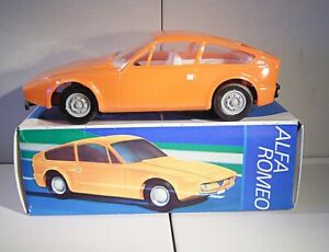 "06 321 Ancre ""alfa Romeo 1300 Junior Zagato (volant Moteur Propulsion) Orange""-afficher Le Titre D'origine"