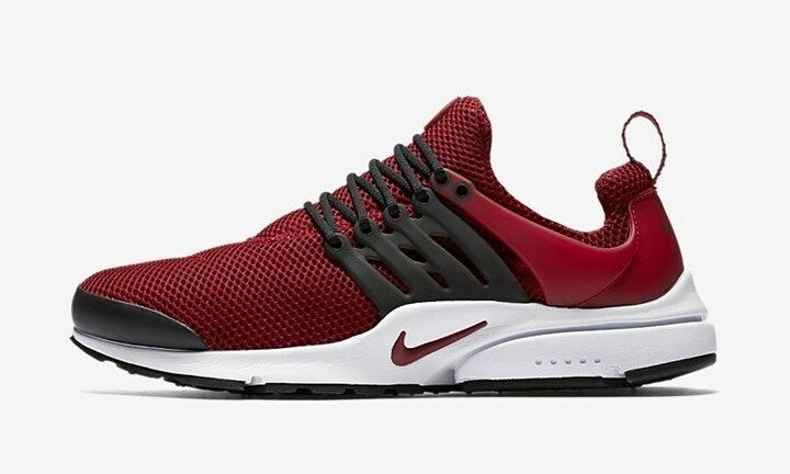 New Nike Men's Air Presto Running shoes (848187-605)  Team Red Team Red-Gym Red