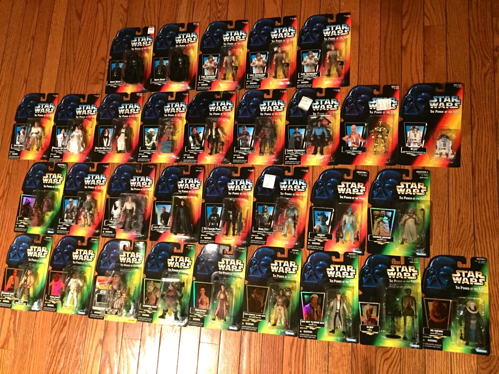 Star Wars Rare Collection Series 1 & & & 2 (Lot of 31) 5f7861