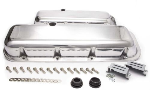 RACING POWER CO Aluminum Stock Height Valve Covers Big Block Chevy P//N R6231-2
