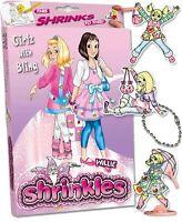 19 GIRLS WITH BLING EMBELLISHMENTS SHRINKLES SHRINKIE SHRINK ART BUMPER BOX SET