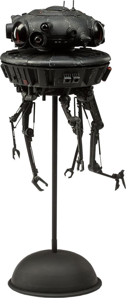 Star Wars Imperial Probe Droid 16th Escala Figura de acción (Sideshow) NEW