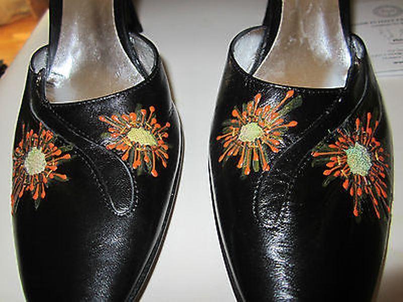 FABI Shoesdecolte pelle ricamo patchwork pelle Escrpines Shoes pelle patchwork 36 New 8acb3b