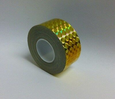 Prism Hoop Tape, 1 Inch x 25 feet, Choose Any Color, Holographic Irridescent