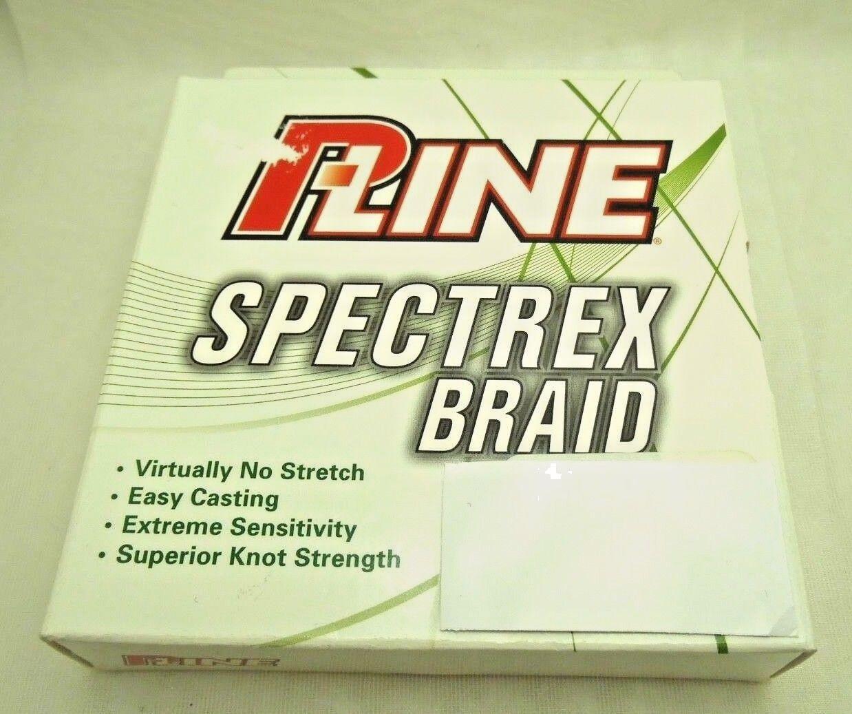 PLine Spectrex  Braid 300yds fishing line spectra fiber Honeywell USA Choose size  comfortably