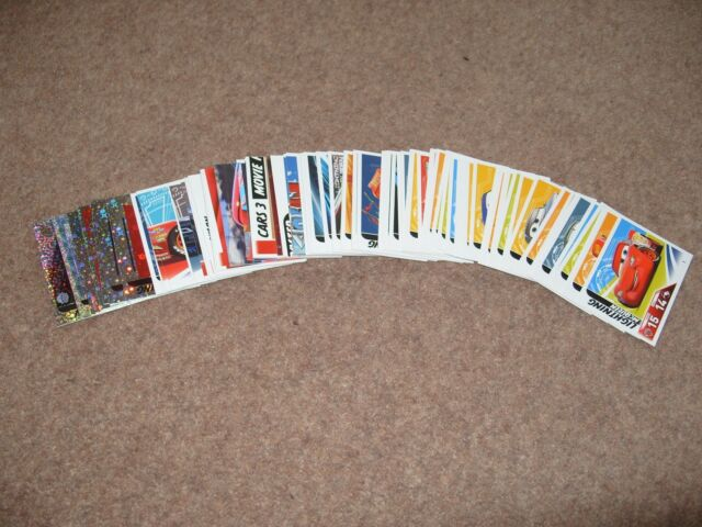 Topps Trading Cards Disney Pixar Cars 3 - 5 cards for £1