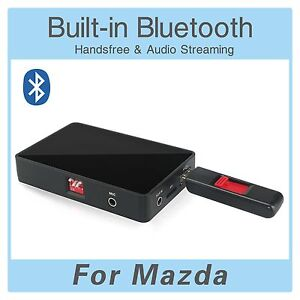 Bluetooth-USB-SD-AUX-MP3-adapter-Mazda-BT-50-Ford-Ranger-Freisprecheinrichtung