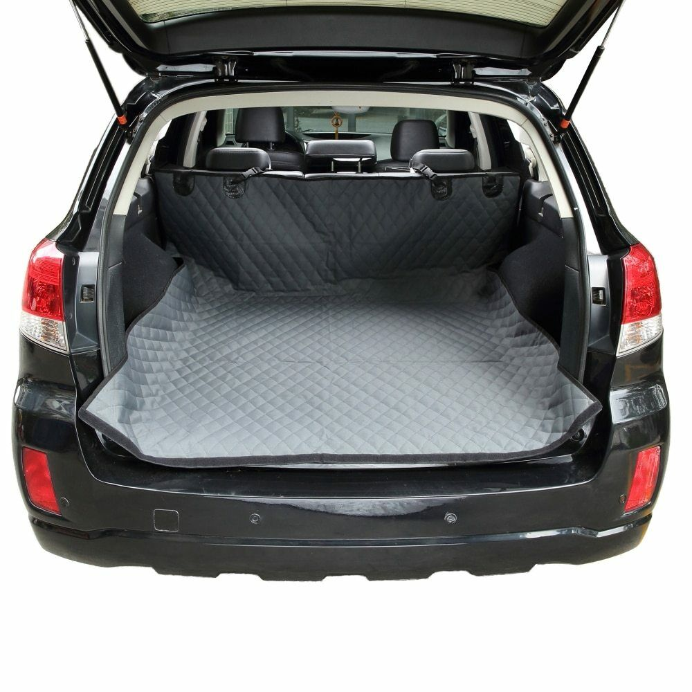 Waterproof Dog Seat Cover Cargo Liner For SUVs Cars Non Slip Car Trunk