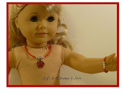 """Pencil Doll Accessory 3337ZS Fit For 18/""""American Girl Rose Red Sheep"""