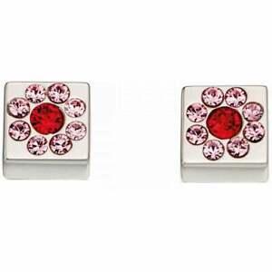 Orla-Kiely-Ladies-Sterling-Silver-Swarovski-Crystal-Flower-Stud-Earrings-New