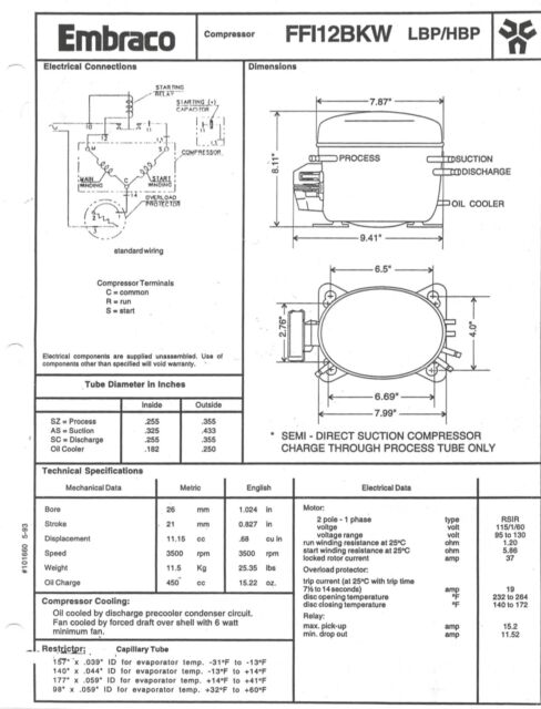 embraco compressor ffi12hbx wiring diagram  subwoofer