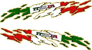 """USA Flag Racing Boat Car Truck Graphic Decals Vinyl Stickers Wrap 2-50/""""  2-24/"""""""