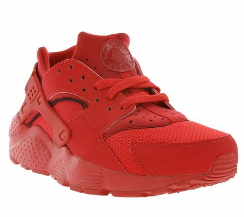 GS Nike Huarache Run University Red//University Red 654275 600