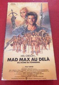 VHS-Movie-Mad-Max-Au-Dela-du-Dome-du-Tonnerre-Version-Francaise