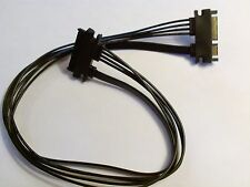 """XBOX 360 PHAT & SLIM Hard Drive 19"""" Extension cable repair replacement modding"""