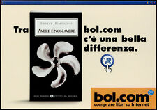 cartolina pubblicitaria PROMOCARD n.2283 BOL.COM VENDITA LIBRI ON LINE