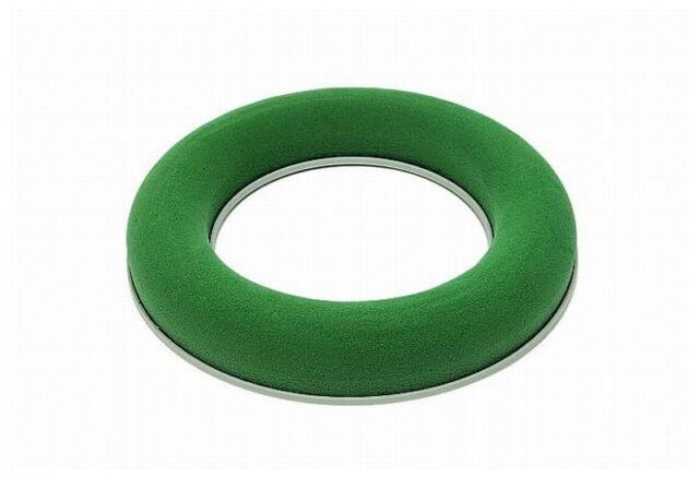 Steckschaum-Kranz 30 cm Plastikunterl, Adventskranz Steckmasse  Steckmoos  Ring
