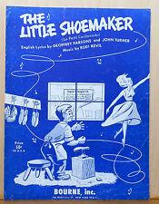 The Little Shoemaker (La Petit Cordonnier) - 1954 sheet music