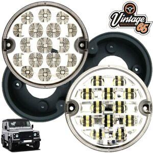 Land-Rover-Defender-Wipac-95mm-LED-Rear-Fog-Lamp-Reversing-Light-Upgrade-Bases