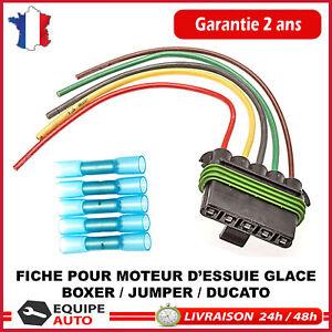 Moteur d/'essuie-glace connectique prise Jumper Boxer Ducato depuis 2006 6405ER