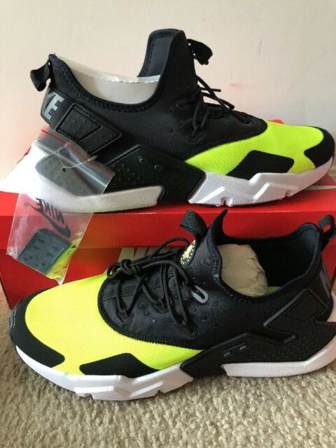 4a020dab0b10 Nike Air Huarache Drift Size 9 Volt White Black Ah7334 700 for sale ...
