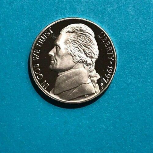 1997 S Jefferson PROOF Nickel