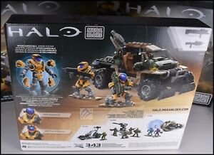 HALO-MEGA-BLOKS-CONSTRUX-United-Nations-Space-Command-jaune-SPARTAN-EVA-operateur-Spade-Rush-DPW93