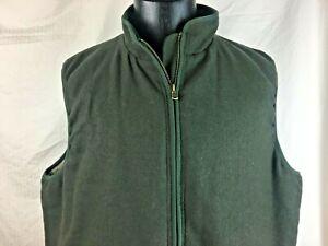 Scandia-Woods-Green-Vest-Men-039-s-Size-XL-Micro-Fleece-Lining