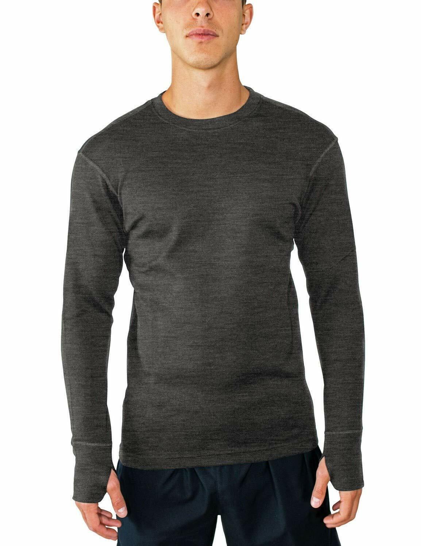 Woolx para hombre glaciar peso pesado la lana  Merino Capa Base Camisa para Extreme caliente..  calidad garantizada