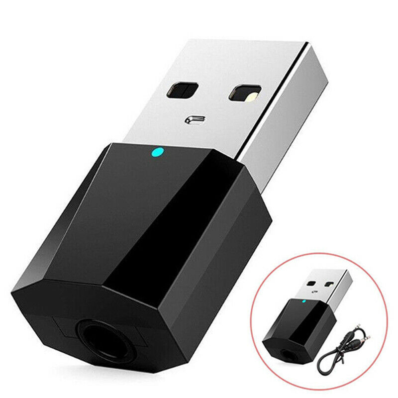 Mini USB 3.5mm AUX Wireless Bluetooth Music Receiver Car Stereo Audio Adapter