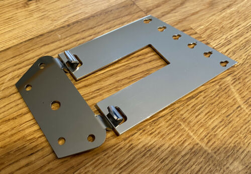 Rickenbacker Style Guitar Trapeze Tailpiece And Bracket