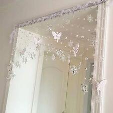 Wedding Decoration Window Curtain Snowflake Curtain Crystal Bead Curtain