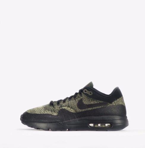 Zapatos para Nike Air Flyknit oliva hombre Max Ultra verde en neutro color negro 1 wrwdqCY