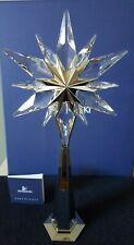 Swarovski Crystal NEW ROCKEFELLER SHINING STAR CHRISTMAS TREE TOPPER 843215