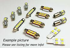 Interior Light LED replacement kit for PEUGEOT PARTNER 4 pcs COOL WHITE 6000K