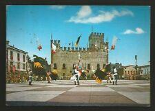 AD7544 Vicenza - Provincia - Marostica - Partita a scacchi - Sbandieratori