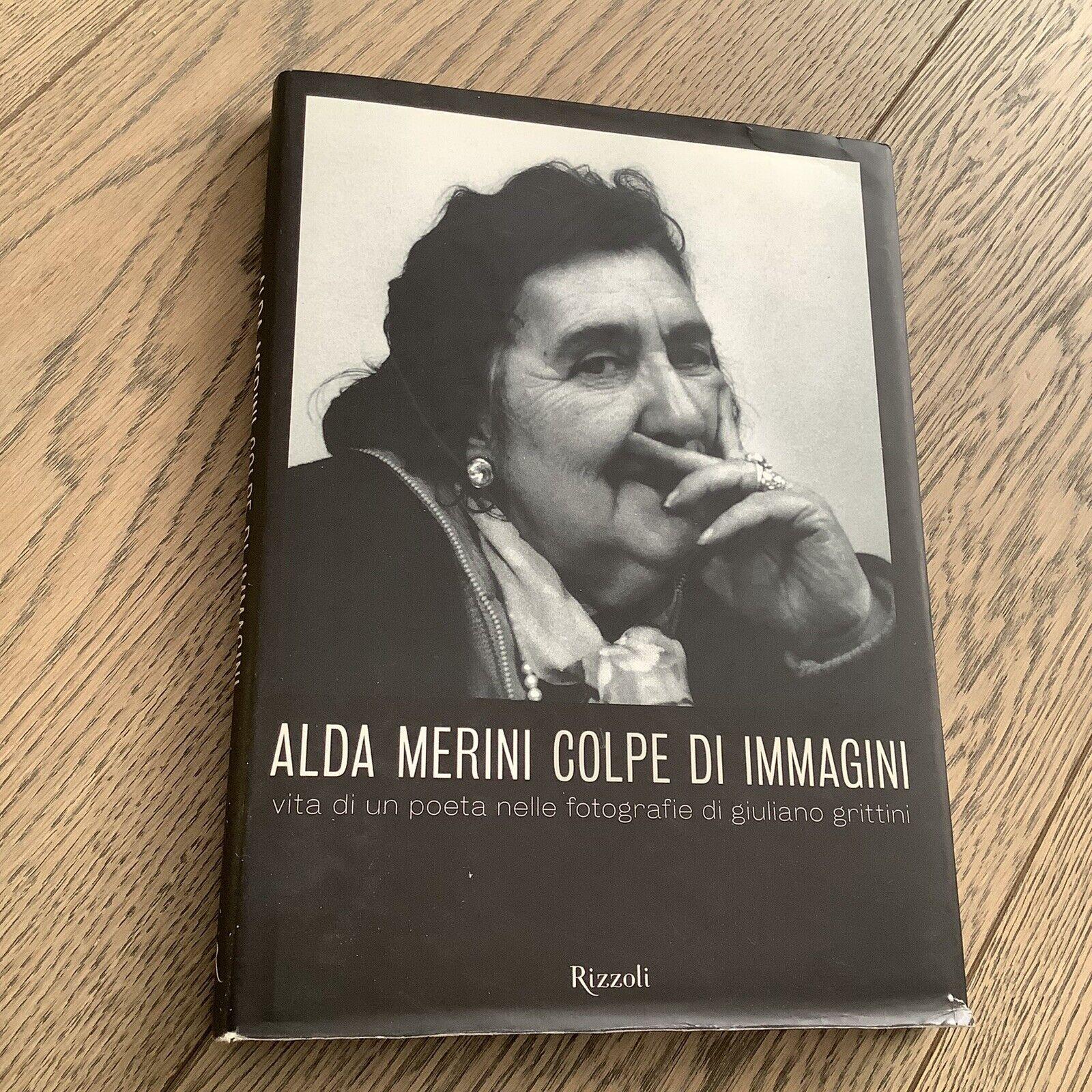 Alda Merini Colpe Di Immagini prima Edizione Rizzoli