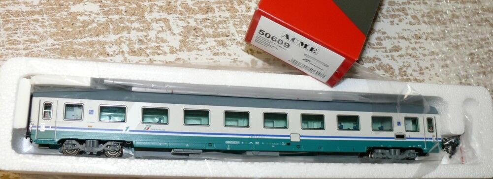 HS ACME 50609 FS vetture passeggeri 1.kl IC Trenitalia VERNICE EP VI NUOVO di fabbrica