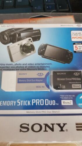 MS-MT1G 1GB Sony Memory Stick Pro Duo
