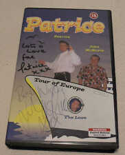 Patrice (Patrick Wight Hairdresser to Stars) Tour of Europe VHS PAL Video SIGNED